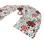 Bolsa Térmica de Sementes e Ervas Aromáticas - Cervical - Flores