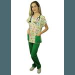 Pijama Cirúrgico Feminino - Safari 02