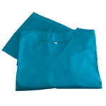 Pijama Cirúrgico Feminino - Peça única promocional - Verde Tiffany
