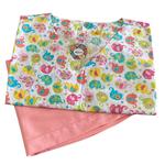 Pijama Cirúrgico Feminino - Peça única promocional - Elefantes 02