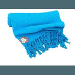 Rebozo Nacional - Azul Turquesa