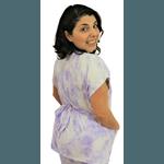 Scrub Feminino - Tie dye Lilás