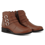 Bota Casual 3 Fivelas Brand Ref 2469