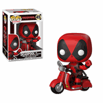 Deadpool On Scooter Rides Pop! Vinyl #48