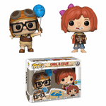 Up! - Carl And Ellie Pop! Vinyl Sdcc Exclusive 2-pack