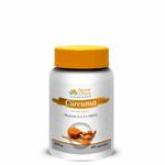 Cúrcuma Anti-inflamatória Natural com Vitaminas A, C, E e Zinco 500mg 60caps