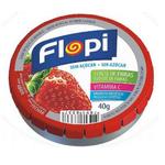 Bala Flopi Morango 40g