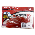 Isca Soft Monster 3x Slow Shad 9cm - 3un.