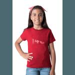 Camiseta Infantil Geração 148 2020 Vermelha