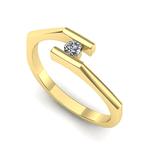 Anel Solitário de Diamantes São Vicente