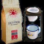 Kit de Café Excelência - de Araxá - Café Gourmet torrado e moído 500g