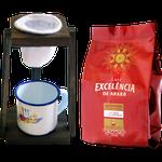 Kit - Café Excelência - de Araxá - Café Superior torrado e moído 250g