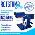 Máquina RotStamp SLIM transfer 360º