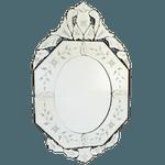 Espelho Oitavado Londres - Moldura Trabalhada