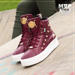 Tênis MVP Street Fashion - Marsala