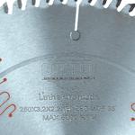 Disco de Serra Circular Para Acabamento 10'' 250 mm X 80 dentes RT Cromada 3,2/2,2 F.30