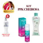 Espuma Higienica Intt Care + Sabonete Menta + Presente da Nati: Desodorante Íntimo / KIT PPK CHEIROSA