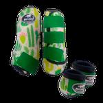 Kit Simples Color Boots Horse Cloche e Caneleira - Estampado 22