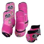 Kit Completo Boots Horse Color Cloche e Caneleira Dianteiro e Traseiro - Estampado 26