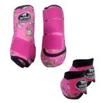 Kit Simples Color Boots Horse Cloche e Caneleira - Estampado 23
