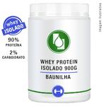 Whey Protein Isolado 90% Baunilha 900g