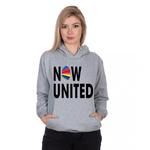 Moletom Feminino Now United Cinza - Selten