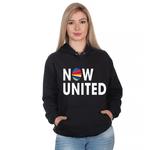 Moletom Feminino Now United Preto - Selten