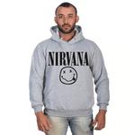 Moletom Masculino Nirvana Cinza - Selten