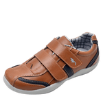 Kit 2 Pares Sapatênis Casual Infantil Top Franca Shoes Camel / Preto