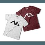 Kit 2 Camisetas Masculina Adaption Branca/bordo