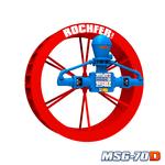 Bomba Rochfer Msg-70d + Roda D'água 1,65 x 0,47 m