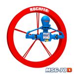 Bomba Rochfer Msg-70d + Roda D'água 1,90 x 0,25 m