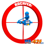 Bomba Rochfer Ultra-42 Flex + Roda D'água 1,65 x 0,13 m