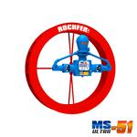 Bomba Rochfer Ultra-51 + Roda D'água 1,37 x 0,25 m