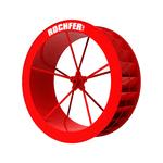 Roda D'água 1,37 x 0,47 m - Série b