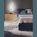 Arandela haste Dourado com LED integrado 16W Alamin
