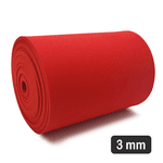 3 Mm Eva Red para Confecção De Elementos (180 x 12 Cm)