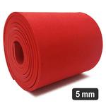 5 Mm Eva Red para Confecção De Elementos (180 x 12 Cm)