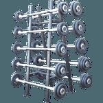 Suporte Para Barra Montada - 10 Unidades