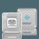 Silberbar Geiger 5 gr. 999 quadratisch