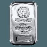 Silver Cast Bar 100 g - Germania Mint