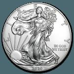 2020 American Eagle Silver Coin 1oz