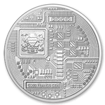 "2020 Chad Crypto Series ""Ethereum"" 1 oz Silver BU"