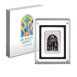 2020 Niue Archangel Gabriel 1 oz Silver Proof Colored