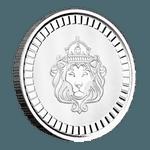 1/2 oz Silver Round - Scottsdale Lion