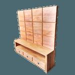 Jogo rack com painel Windows