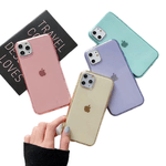 Case Clear Colors - Iphone 11 Pro Max