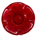 Vaso de Cristal Murano Trouxinha Vermelha G