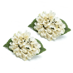 Porta guardanapo Hortênsia Branca