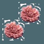 Porta guardanapo hortênsia rosa queimado